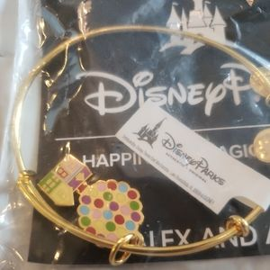 Disney Alex and Ani Pixar Up House Bracelet NWT